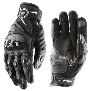 Attaqué Dropshipping Masontex Cuir Gants de protection en carbone Touchez Guanti Gant Gants Moto Jnri