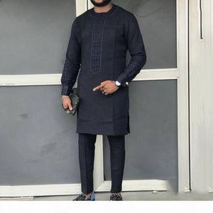 Fashion African Men Clothing Dashiki Long Sleeve T-Shirt 2019 Autumn Fall Riche Male Vintage Africa Clothes Long Tee Shirt Tops MX200509