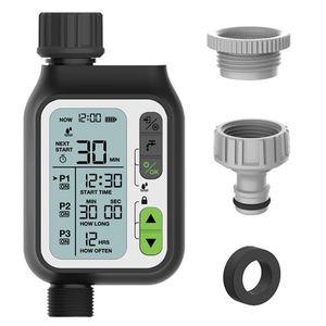 Timer de irrigação LCD SN eletrônico Automático Sprinkler Controller Jardim Ao Ar Livre Device Regador Ferramenta de Irrigação