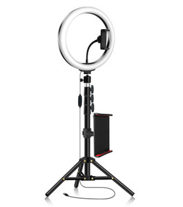 Photo Studio Photographic Lighting Mobile Circle Lamp Selfie Ring Light with Stand for Tik Tok YouTube Video Makeup Ringlight