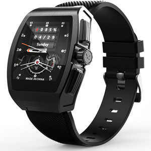 1.4 inch full circle touchscreen + button operation smart watch with Body temperature detection Alloy watch case + Food grade silicone strap
