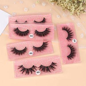 5 styles 3D Mink Hair False Eyelashes Natural Thick Long Eye Lashes Wispy Makeup Beauty Extension Tools