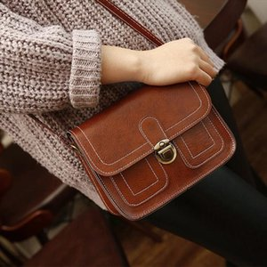 Vintage leather handbags hotsale women wedding clutches ladies party purse designer crossbody shoulder messenger bags