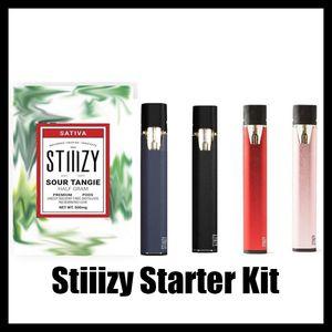 Vape-Starter-Kit Premium-Verdampfer 210mAh-Kapazität Akkapazität Akku-Batterie mit USB-Kabel vs Vape-Patronen Coco-Kit Novo Nord Kit