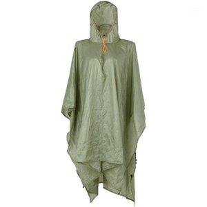 Открытый куртки водонепроницаемый дождь пончо легкий многоразовый с капюшоном куртка с капюшоном для кемпинга Пешие прогулки Cycost1