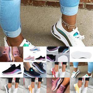 2021 Litthing Casual Shoes Mesh Air-Cushion Flat Anti-Slip Women Sneakers Jogging Trainer Female Vulcanized Shoe8NXV