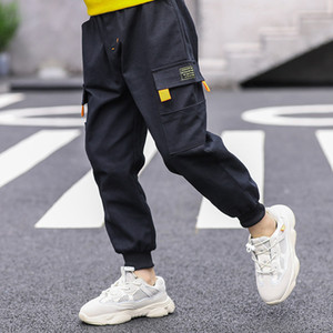 Brand children's clothing boys casual trousers baby children spring and autumn dress 2020 spring new Chinese big children Korean version
