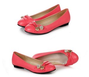 2021 Spring and Autumn with New style fashion flat bottom round head Women's shoes@2022