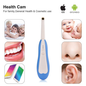 Wireless HD Dental Endoscope WiFi Intraoral Camera LED Dentist Tooth Borescope Oral Real-time Video Dental Inspection Tools