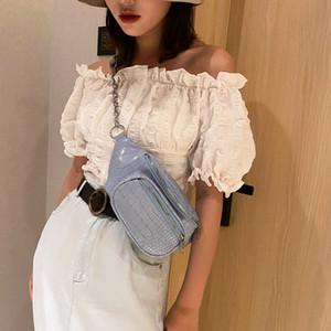 2020 여성용 허리 가방 패션 바비아 벨트 가방 레이디 크로스 바디 가방 SAC BAYANE 작은 핸드백 여름 가방