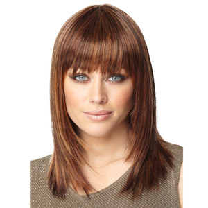 2020 European Fashion Party Gorgeous Lady Women Short Straight Wigs Best price superior quality human hair straight wigs