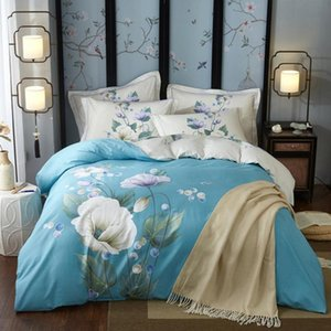 The New Nordic Simple Pastoral Flowers Bedding Set Kid Baby Children Adult Cover Set Bedspread Bedclothes Christmas Gifts