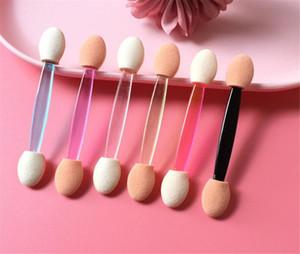 Beauté Hot Beauty Santé Stick Stick Stick Shadow Applicateur Cosmétic Maquillage Outils de maquillage Double tête à paupières Brosse pour les femmes Maquillage Outil