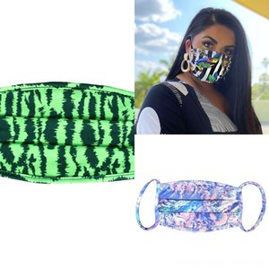 Mask Halloween Dust Christmas mask Breathable Protection Adjustable Insertable washable Chip mask dust Printing Ear Belt new Dustproof and H