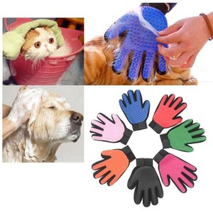 STOCK Pet hair glove Comb Pet Dog Cat Grooming Cleaning Glove Deshedding left Right Hand Hair Removal Brush Promote Blood Circulation