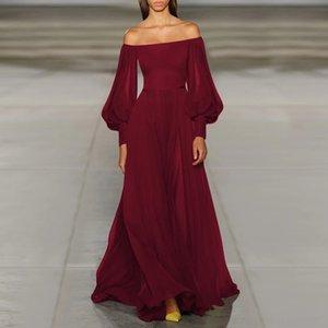 XVug 2019 robe haute col fluorescent couleur femme femme femme