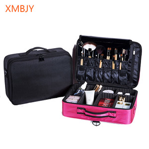 2020Free Shipping Hot sale Nylon Professional Makeup Organizer Cosmetic Case Necessar Travel Storage Bag Suitcases Dropshipping Z1123