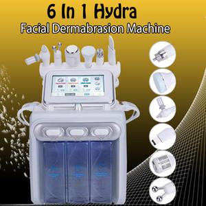 7 in 1 bio rf hammer hydro microdermabrasion water hydra dermabrasion spa facial skin pore cleaning machine