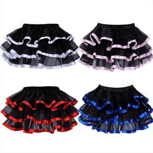 Elastic Petticoat Gothic Women Skirt Petticoat Burlesque Mesh Sexy Micro Mini Tutu Skirt Ladies Performance Steampunk Skirts