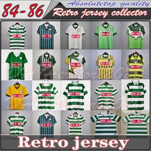 82 84 86 89 Celtic Retro Futbol Formaları 1991 1992 1998 1999 Futbol Gömlekleri Larsson Klasik Bağbozumu Sutton 1995 1997 Futbol Kitleri Üst