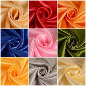 Satin fabric silk cloth 150*100cm Handmade DIY for box lining home dress curtain wedding party decoration sewing background