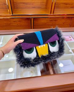 Luxurys Designer di alta qualità originale Designer Donne Crossbody Borse Borse Borse Tote Fotocamera Borsa a spalla in vera pelle carino Pelliccia per bambini
