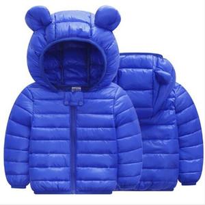 Fashion Winter Baby Boys Girls Coat Kids Warm jacket Children Hooded Outerwear 201117