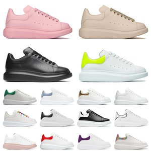designer platform sneakers casual shoes 2021 TOP QUALITY pour hommes femmes Leather Flat Casual Shoes Lace Up Comfort Platform Designer Luxurys Daily Lifestyle Skateboarding