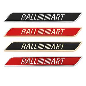 Наклейки автомобиля Ralliart Logo Bandge Decal для Mitsubishi Lancer 10 3 9 Ex Outlander 3 ASX L200 Ralliart Community Pajero Galant