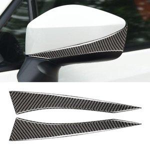 Vérifiez la bande anti-collision rétroviseur de la fibre de carbone pour Subaru Brz Toyota 86 2013-2017 Drive Drive Universal