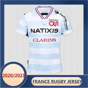 2020 2021 FRANCE RACING 92 RUGBY HOME JERSEY Size:S-3XL-5XL (Print custom name and number)The quality is perfect. Free Delivery
