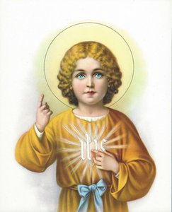 Catholic Picture SWEET HOLY CHILD JESUS Home Decoration Oil Painting On Canvas Wall Art Canvas Pictures For Wall Decor 201124