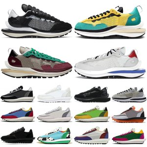 2020 sacai waffle VaporWaffle pegasus fragment chunky dunky ldv Tour Giallo uomo donna scarpe nylon bianco uomo donna scarpe da ginnastica sportive sneakers