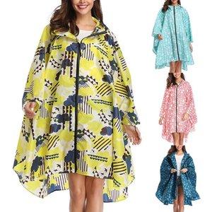 2020 New Rain Jacket Female Jacket Outdoor Dwindproof Water Windproof Poncho Waterproof Outwear Raincoat Hoodies Rainy Raincoat