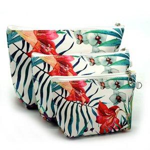 Licorne Flamingo Sac à cosmétiques Trois pièces Suite Digital Impression Digital Admission Boîtes de rangement Portable Haute Qualité 13 5MT J1