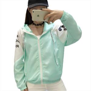 Jackets Women New Summer Spring Womens Hooded Female Jacket Fashion O neck Thin Windbreaker Outwear Women Coat