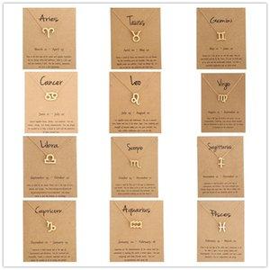 Nuovo Arrivo Collana Dogearing con carta regalo Elephant Pearl Amore Ali Crociera Cross Twelve Stars Link Pendant Link Ornaments Commercio all'ingrosso