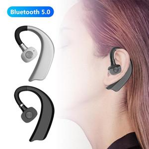 1Pc Bluetooth 5.0 Wireless Earphones Ear Hook Hands-Free Hanging Ear Headset Business Sports Earhook Headset Wireless Earphones