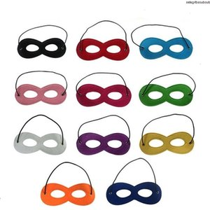 Halloween Cosplay Partei-Maskerade Kinder Filzdekoration Superhero Cape Leistung Mask