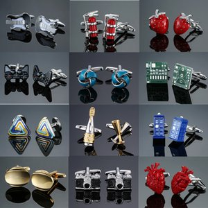 Dy New High Quality Brass Material Fashion Design Classic Style Men's French Shirt Cufflinks Free Shipping