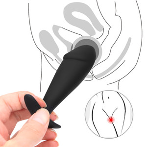 Silicone Anal Plug Vibrator G-Spot Prostate Massage Butt Plug Anal Stimulate Masturbation BDSM Shame Game Sex Toys For Man Women