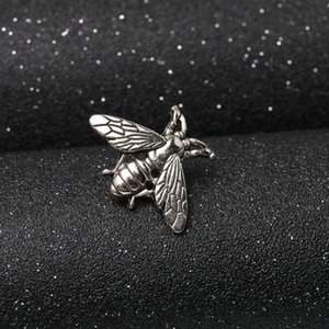 DHL 2020 Wholesale New Designer Brooch High Quality Bee Brooch Pins Women Pin Buckle Brooches Jewelry for Gift Silver Gold