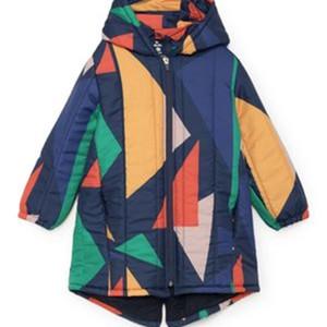 Çocuk Ceket Strafina Erkek Kız Kış Coat Bebek Pamuk Palto Ceket Çocuk Giyim Giyim LJ201202