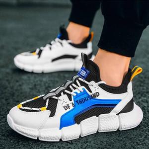 2021 Moda Zapatillas Hombre Dört Sezon Nefes Rahat Spor Ayakkabı Açık Loafer'lar Yürüyüş Ayakkabıları Tenis Feminino
