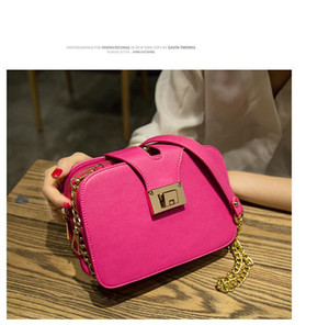 New style women's bag fashion one shoulder mobile phone bag chain