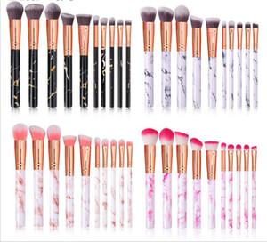 New Health 10 pcs set Makeup Brushes Tool Set Cosmetic Powder Eye Shadow Foundation Blush Blending Beauty Make Up Brush Maquiagem
