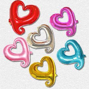 18 дюймов в форме сердца шар романтический алюминиевый фои lnflatable свадьба детские душевые валентинка день декоративные воздушные шары
