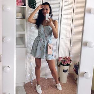 2019 New Womens Dress Sweet Summer Casual Fashion Bohemian Print Thin Strap Sleeveless Black Dress for Women