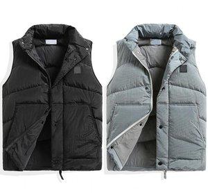 TopStoney 2020 نمط جديد konng gonng الخريف والشتاء سميكة صدرية أزياء العلامة التجارية عالية نسخة الرجال سترة FY7357