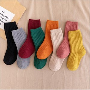Thicken Baby Socks Autumn Winter Coral Fleece Socks Warm Toddler Boy Girls Floor Infant Clothing Accessories YHM747